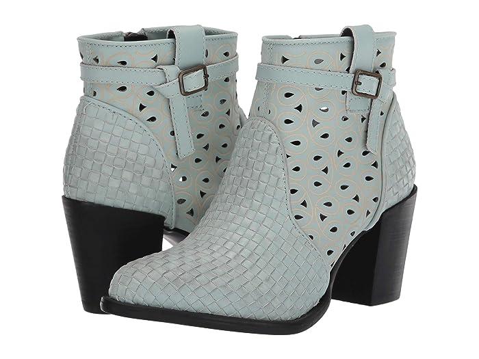 Be Famous  Shoes (Mint) Women's Zip Boots