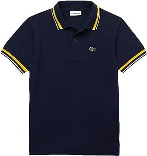 Boys Short Sleeve Semi-Fancy Pique Polo Shirt