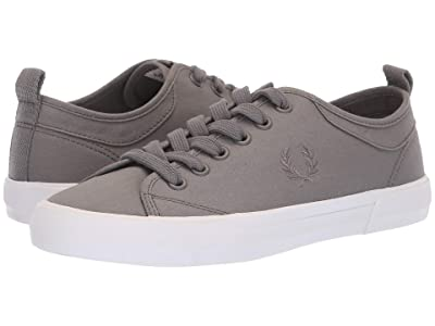 Fred Perry Horton Shower Resist Fine Canvas (Steel) Men