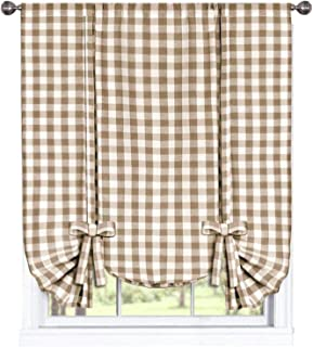 Best country kitchen fabric for curtains Reviews