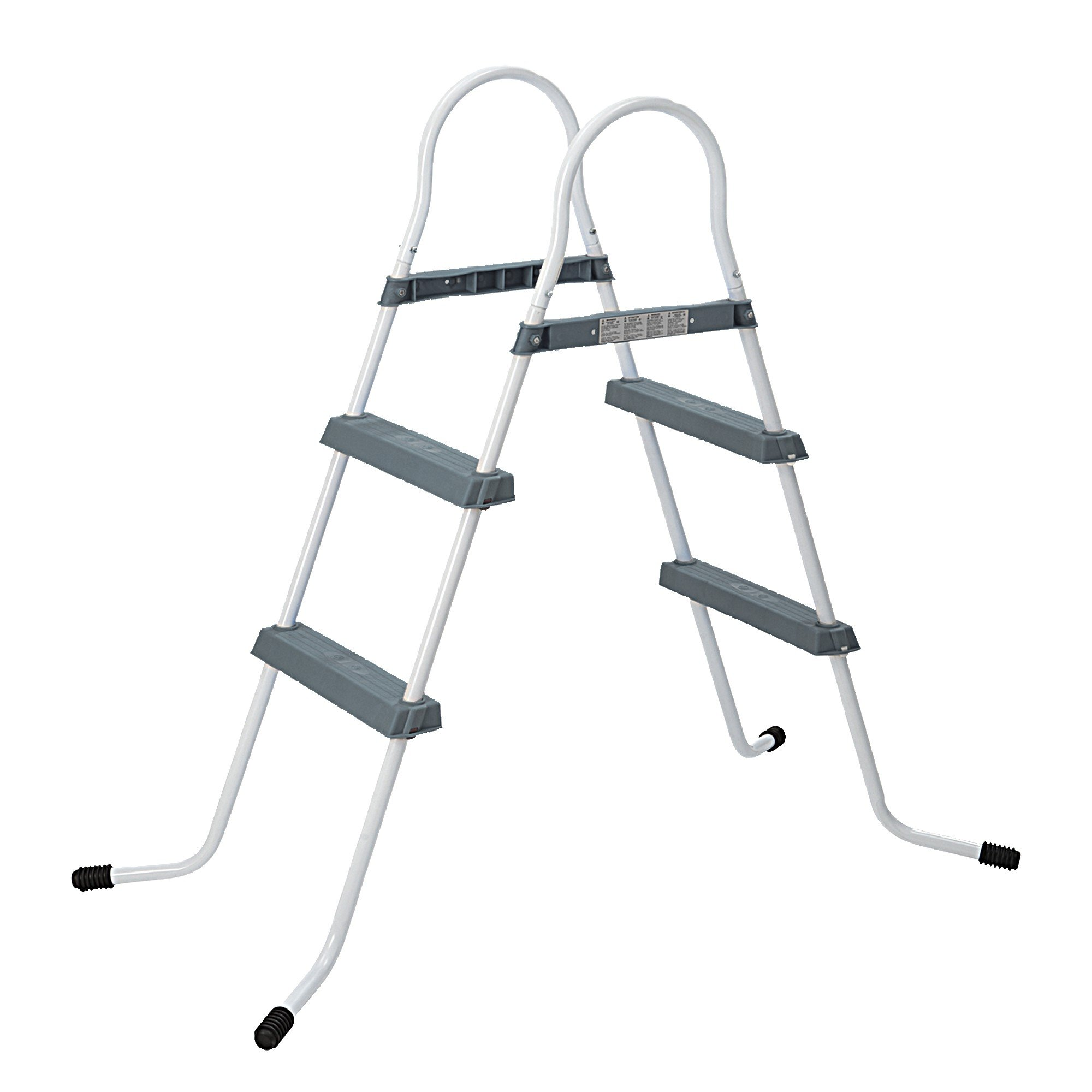 Jilong 2-84 Pool Ladder Grey - Escalera de 2 peldaños, para Piscinas de hasta 84 cm: Amazon.es: Jardín