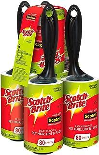 Scotch Brite Value Pack Lint Roller 5 Pk - 400 Sheets