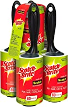 Scotch Brite Value Pack Lint Roller 80 Sheets (Pack of 5)