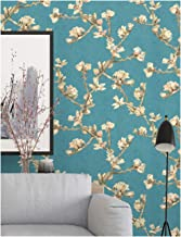 HaokHome 83006 Blooming Vintage Floral Peony Wallpaper 20.8