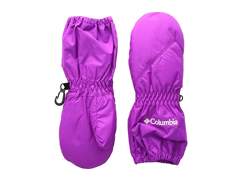 Columbia Kids Chippewatm Long Mitten (Toddler) (Bright Plum) Extreme Cold Weather Gloves