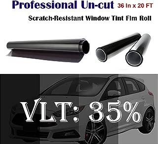 Mkbrother Uncut Roll Window Tint Film 35% VLT 36