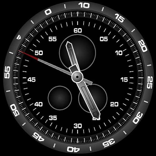 Smart Mirror Smart Watch - Watch Analog Clock Face