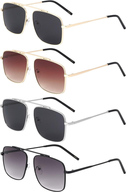 入手困難 Henderson SEAL限定商品 Bridge-less Square Aviator Top Bar Sunglasses