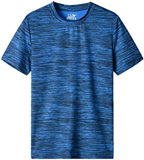 kolila Men's Quick Dry Workout T-Shirt Athletic Moisture-Wicking Dry Fit Running Shirts Baselayer Tee Gym Training Tops