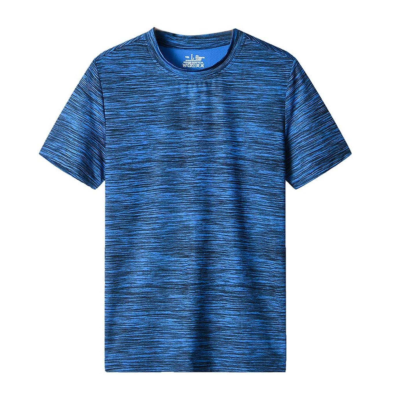 深さ歌う評決カットソー メンズ 半袖 Rexzo 吸汗速乾 スポーツシャツ カジュアル 機能性 Tシャツ 柔らかい 着心地 スウェットシャツ 大きいサイズ 人気 トレーニングウェア 通気性抜群 カットソー tシャツ 運動 日常 マラソン