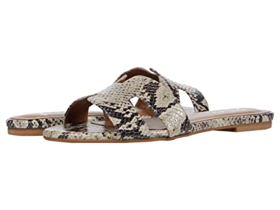 French Sole Alibi Sandal (Natural Snake) Women