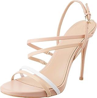e04d0ef3 Guess Tiany (Sandal)/Leather, Zapatos de tacón con Punta Abierta para Mujer