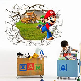 Adesivi Murali Super Mario.Amazon It Super Mario Adesivi Murali