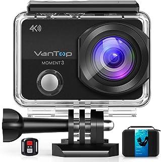 VanTop Moment 3 4K Action Camera w/Gopro Compatible...
