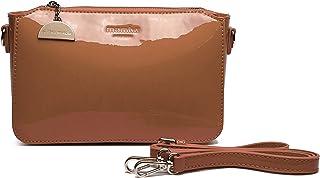 4138d00a325 MAMBO DE OTROS MUNDOS Bolsos mujer, bolsos de fiesta y diario, clutch marrón  oscuro