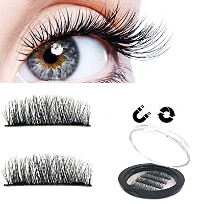 Magnetic Eyelashes Natural Look NO Glue False E...