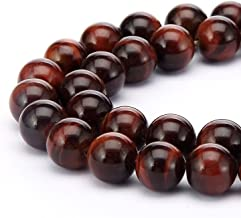 Top Quality Natural Red Tiger's Eye Gemstone 10mm Loose Round Gems Stone Beads 15 inch for Jewelry Craft Making GS22-10