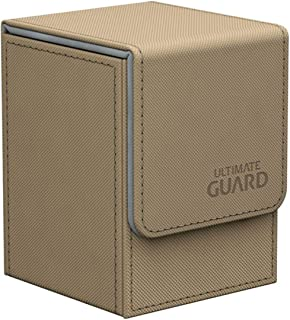 Ultimate Guard Flip Deck Case 80+ XenoSkin Standard Size Sand Card Game