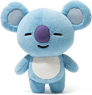 BT21 Koya Standing Plush Doll Medium Blue