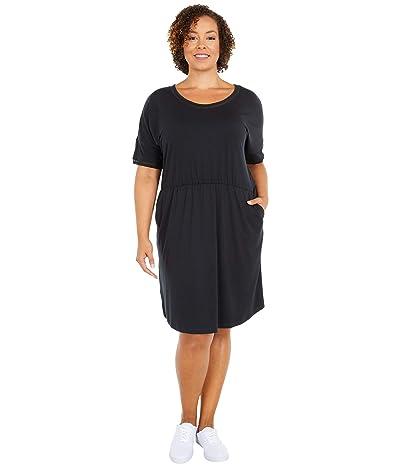 Columbia Plus Size Slack Watertm Knit Dress (Black) Women