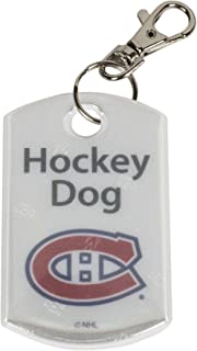 Finnex Reflectors Official NHL Montreal Canadiens Hockey Dog Reflector | High Visibility Safety Reflector Provides Night Time Safety While Running or Walking with Your Dog