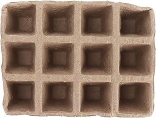 Zaailingpotten, turfpotten voor zaailingen Lichtgewicht Handig om te verplaatsen 24PCS Papierpulp Afbreekbaar voor kwekeri...