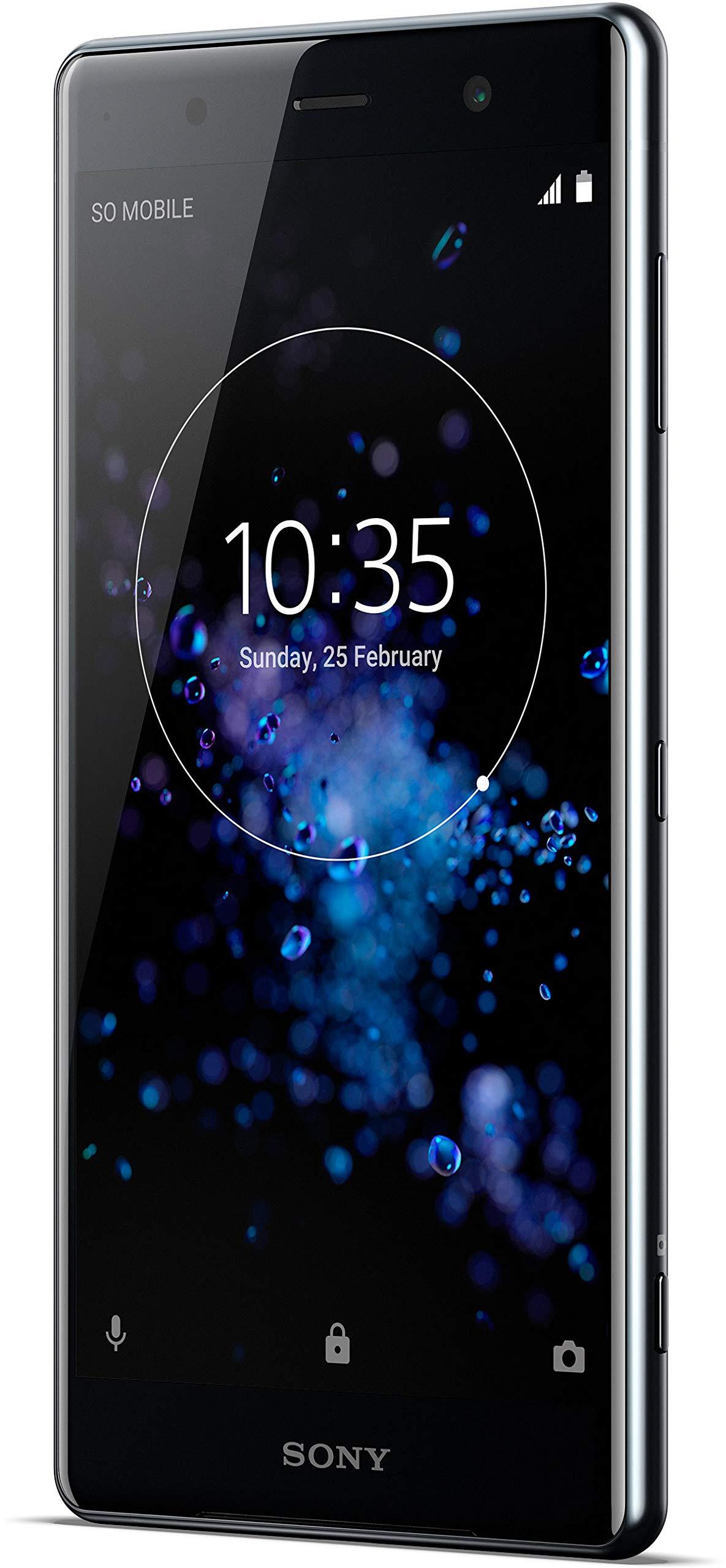 Sony Xperia XZ2 Smartphone Premium (Pantalla Triluminos HDR 4K de 14,7 cm (5,8 Pulgadas)), Negro + Tarjeta de Memoria de 64 GB: Amazon.es: Electrónica