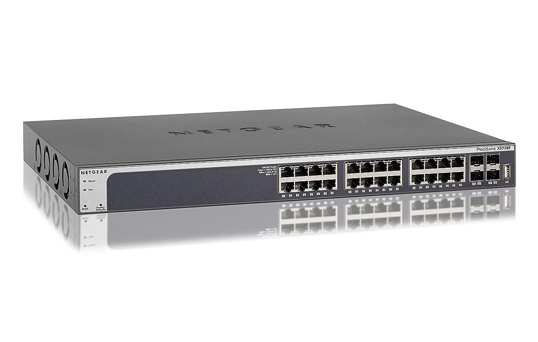 かすかな幸運権限を与えるNETGEAR スイッチングハブ 10ギガ 10GBASE-T 28ポート スマートスイッチ 日本語対応 XS728T-100AJS