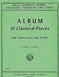 Album of 10 Classical Pieces for String Bass (IMC329)