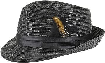 STACY ADAMS Men's Teardrop Homburg Hat