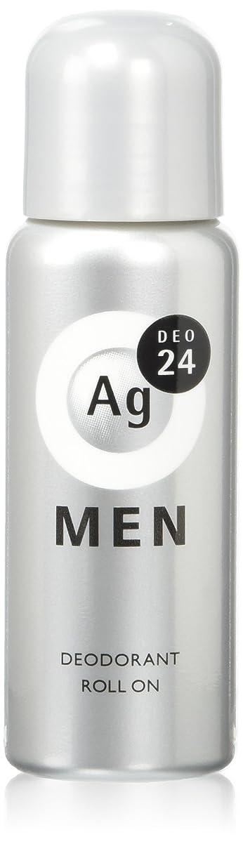 なめらかな灌漑メダリストエージーデオ24 メンズデオドラントロールオン 無香性 60mL (医薬部外品)