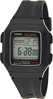 Casio Digital Rubber Watch for Boys F-201WA-1ADF