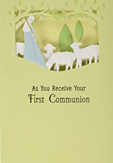 Dayspring Holy Communion Card (Lamb of God, Good Shepherd)