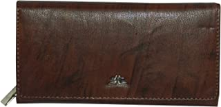Laveri Flap Wallets For Women - Leather - Brown
