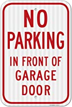 Best no parking in front of garage sign Reviews