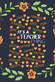 It's a teacher think.fun,caring,cool,happy,amazing,proud,supporting,loving: Encouragement Year End Perception or Thank you...