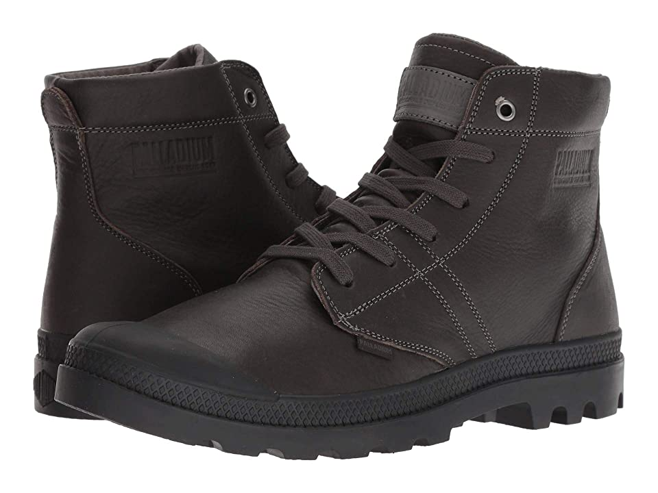 Palladium Pallabrousse Leather (Cloud Burst/Black) Men