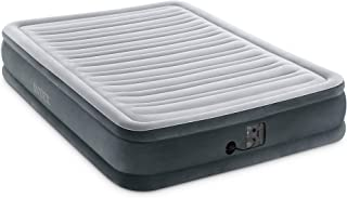 Intex Comfort Plush Mid Rise Dura-Beam Airbed with Internal Electric Pump, Bed Height 13
