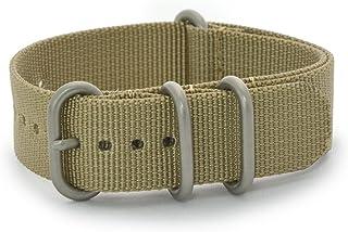 CASSIS[カシス] 時計ベルト TYPE NATO ring タイプナトーリング 20mm カーキ 交換用工具付き B1008S02173020