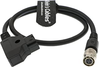 Alvin's Cables 4 Pin Hirose Female to D Tap Power Cable for SmallHD AC7 OLED DP7 Monitor