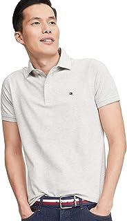 Mens Stretch Slim Fit Pique Polo Shirt