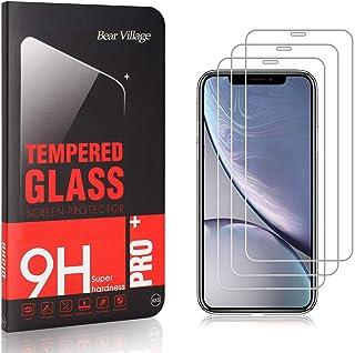 Bear Village® Verre Trempé pour iPhone 11 6.1, sans Poussière, Anti Rayures, 3D Touch Protection en Verre Trempé Écran pou...