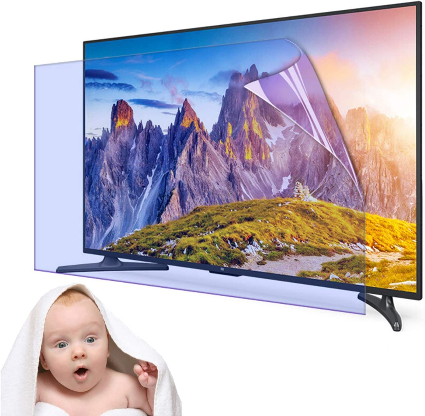 Matte LCD Eye Protection Protector Film Anti Very popular Blue Popular standard Light Scre TV