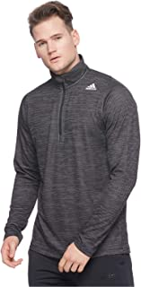 Adidas Men's Free Lift Tech Striped Heather 1/4
