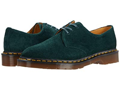 Dr. Martens 1461 (Green Night Desert Oasis Suede) Industrial Shoes