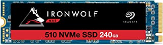 Seagate IronWolf 510 240GB NAS SSD Internal Solid State Drive – M.2 PCIe for Multibay RAID System Network Attached Storag...