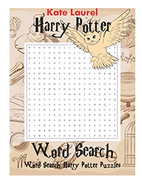 Harry Potter Word Search - Word Search Harry Potter Puzzles: Word Search Large Print, Word Search Harry, J.K Rowling's Word Search, Word Search Puzzles for Adult