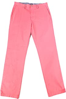 Club Room Mens Flat Front Button-Zip Fly Chino Pants