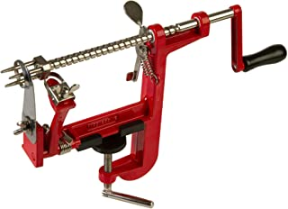 Prepworks by Progressive Apple Peeler and Corer Machine, Heavy Duty Corer Remover, Pear Slicer, Mountable on Counter or Tabletop Apple Machine (Renewed)