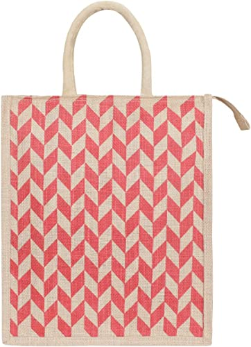 Eco Friendly Shopping Grocery Lunch Tote Jute Bag Jute Bag With Zip Tiffin Bag